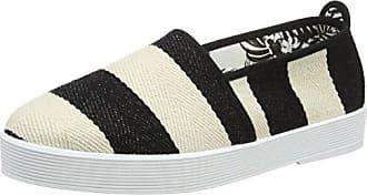 ALMAWOM - Sandalias de Lona Mujer, Color Negro, Talla 35 Flossy