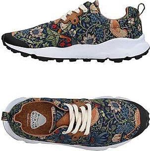slip-on sneakers - Green Flower Mountain