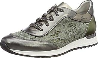 Dorking Viola, Zapatos de Cordones Oxford para Mujer, Verde (Green), 36 EU