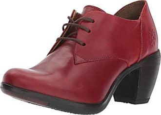 Fly London Chic745fly, Escarpins Bout Fermé Femme, Rouge (Cordoba Red/Black), 42 EU