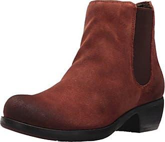 FLY London Damen DAI460FLY Desert Boots, Rot (Street Red 005), 37 EU
