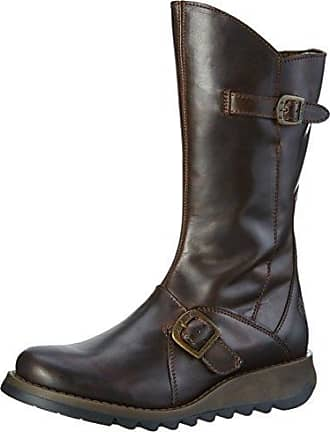 Fly London Same109fly, Bottes Femme, Marron (DK Brown), 39 EU