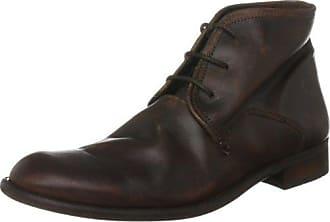 Fly London Hoco817fly, Zapatos de Cordones Brogue para Hombre, Marrón (Antique Tan), 39 EU