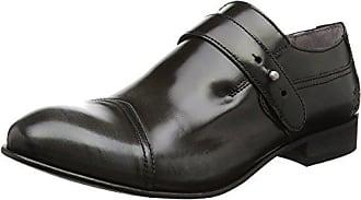 Fly London Hugh933fly, Zapatos de Cordones Brogue para Hombre, Gris (Grey), 40 EU