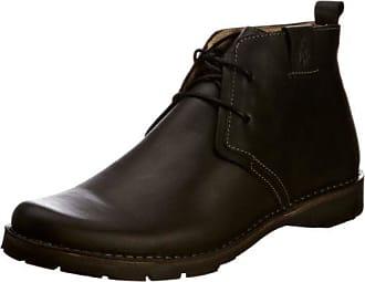 Fly London Hoco817fly, Zapatos de Cordones Brogue para Hombre, Marrón (Antique Tan), 43 EU