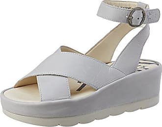 Yamp836fly, Sandales Bout Ouvert Femme, Gris (Cloud), 41 EUFLY London