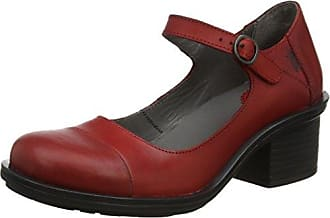 Thea724, Sandales Bout Ouvert Femme, Rouge (Red 003), 36 EUFLY London