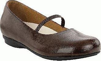 FOOTPRINTS Macapa Damen Klassische Halbschuhe Naturleder, Dunkelbraun, Größe 38 mit schmalem Fußbett