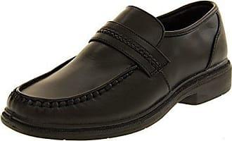 Footwear Studio Klassiker Herren Jacket Faux-Veloursleder Formelle Kleidung Brogue Schuhe Marine Blau EU 46
