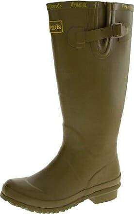 Footwear Studio , Damen Gummistiefel , Grün - grün - Größe: 41.5