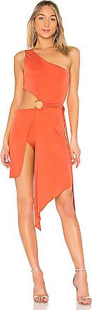 Aleja Midi Dress in Burnt Orange. - size L (also in M,S,XS) For Love & Lemons