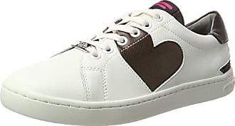 Dalliy - Cordones de zapatos de Lona mujer, color Blanco, talla 38 EU