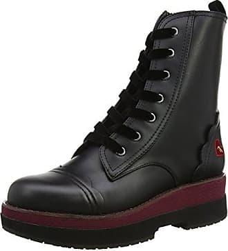 Yuma, Zapatillas Altas para Mujer, Negro (Black 000), 41 EU Fornarina