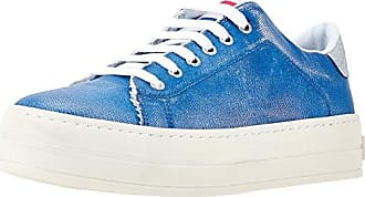 Fornarina Maxi, Zapatillas Para Mujer, Blu (Azzurro), 35 EU