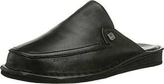 Fortuna Jack, Zapatillas de Estar por Casa para Hombre, Negro (Schwarz 001), 45 EU