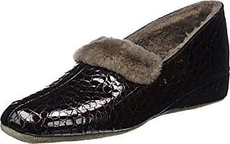Women 412097_Brigitte Cosy_Glattleder Warm lined slippers Fortuna