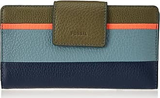 Magnetisches Handygeh?use, Womens Wallet, Blue, 1.59x14.29x7.95 cm (B x H T) Fossil