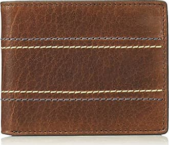 Fossil business card holders for men browse 15 items stylight fossil mens rfid flip id bifold wallet reese brown colourmoves