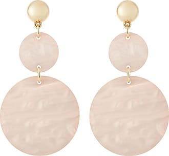 Fragments Pink Shell Statement Earrings