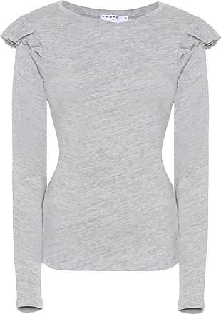 Sweatshirt for Women On Sale, Clay Grey, Cotton, 2017, 8 Frame Denim