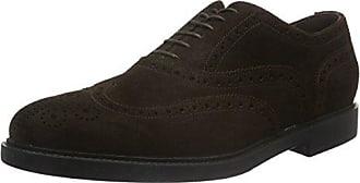 Fratelli Rossetti 44842, Zapatos de Cordones Brogue Para Hombre, Negro (Nero), 40 EU, 6 UK