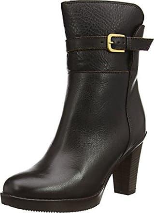 Womens Langschaft Stiefel Mit Blockabsatz Boots Fred De La Bretoniere