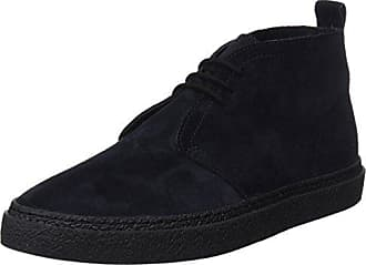 Fred Perry B721 High Shine Leather, Zapatos de Cordones Oxford para Hombre, Rojo (Oxblood), 40 EU