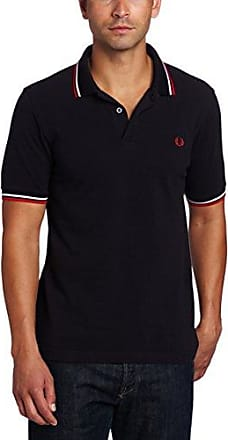 Fred Perry FP LS Twin Tipped, Polo Homme, Multicolore (Navy/White 471), M