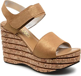 Eny Velcro 7 Sandales - Sandales Pour Les Femmes / Or Et De Bronze Free-lance