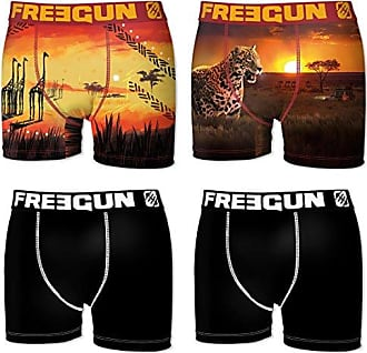 Boxer, Shorts para Hombre, Multicolor (Multicolor 5+1D1), L(Pack de 6) Freegun