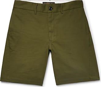 Cotton-blend Gabardine Drawstring Shorts Freemans Sporting Club