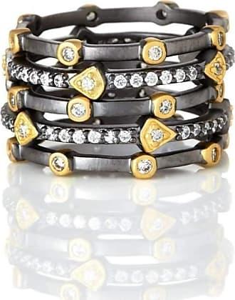 Freida Rothman Turquoise Bar Ring - UK S - US 9 1/8 - EU 60 1/4