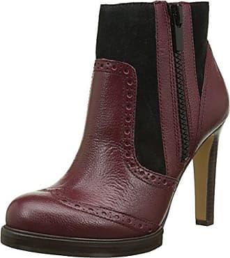 French Connection Roree, Zapatillas de Estar por Casa para Mujer, Rojo Oscuro, 36.5 EU