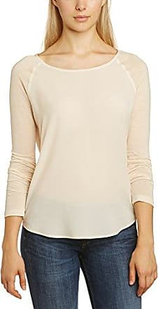 French Connection Classic Polly - Camisa de manga larga para mujer, color winter white, talla 40