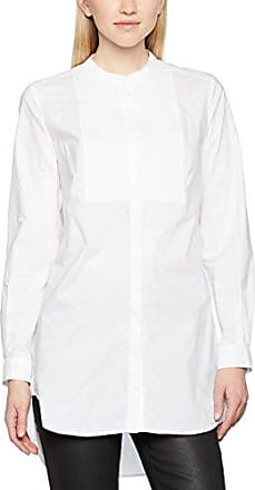 French Connection Camisa de manga larga para mujer, color Blanco (Antique Lace),talla 38 (UK 10)