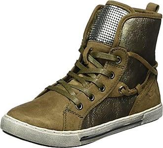 Marc Shoes 69607 - Zapatillas Altas de Cuero Mujer, Color Gris, Talla 39 EU