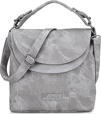Shopper Irmina in grau, Schultertaschen für Damen Gr. 1 Fritzi Aus Preußen