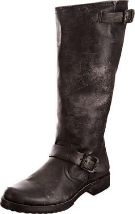77609 - Botas de cuero para mujer, color negro, talla 38 Frye