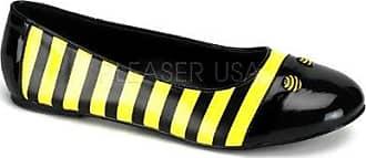 Flache Bienchen-Muster Slipper - Funtasma Bee-16 Größe: 40