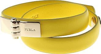 Furla Bracelet for Women, Black, Metal, 2017, One Size
