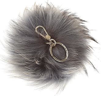 Furla Key Chain for Women, Key Ring On Sale, Antique Rose, Fur, 2017, Universal Size