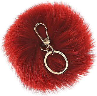 Furla Key Chain for Women, Key Ring On Sale, fucsia, Fur, 2017, Universal Size