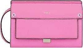 Furla Mini Sac Like Crossbody en Cuir Ares Orchidée