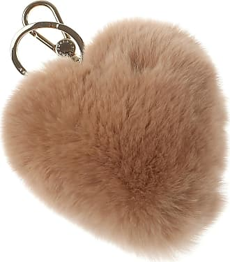 Key Chain for Women, Key Ring On Sale, Clay Grey, Fur, 2017, Universal Size Furla