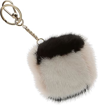 Furla Key Chain for Women, Key Ring On Sale, Cobalt Blue, Fur, 2017, Universal Size