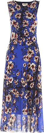 Dress for Women, Evening Cocktail Party On Sale, Blue, polyamide, 2017, 10 8 Fuzzi
