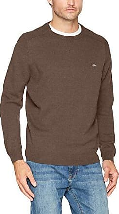 Neck, Moulinee, Structure, Jersey para Hombre, Rot (Bloom 416), X-Large Fynch-Hatton