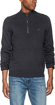 Troyer-Button, Jersey para Hombre, Multicolor (Heather 1704), Medium Fynch-Hatton