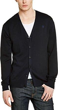 G-Star Collection ash car knit ls - jersey para hombre, color mazarine blue, talla XL G-Star