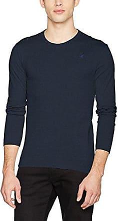 Base R T L/s 1-Pack, T-Shirt à Manches Longues Homme, Noir (Black 990), XX-LargeG-Star